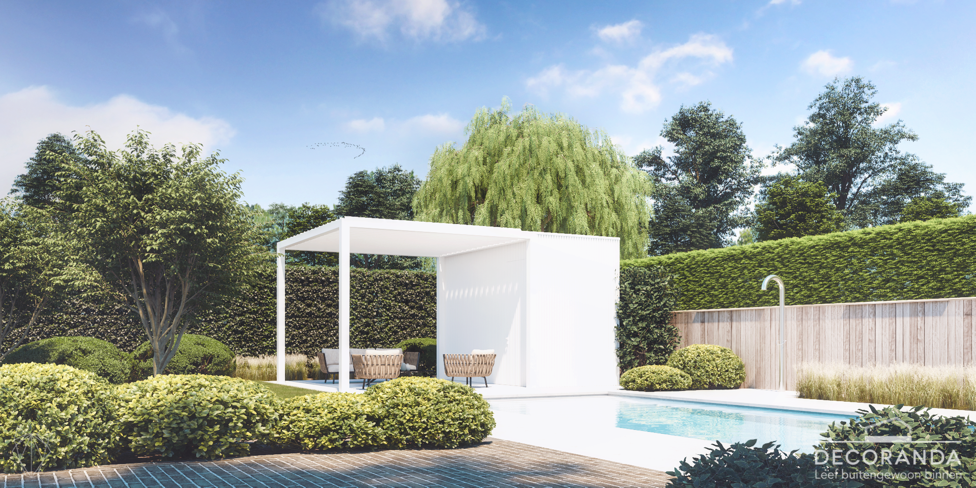 279 Decoranda Standaard poolhouse modell