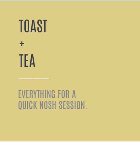 Toast + Tea Nourishment Box