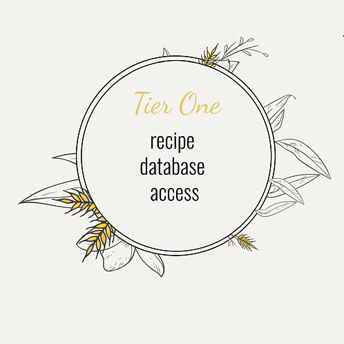 The Postpartum Kitchen: Tier One- Recipe Access Only
