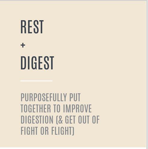 Rest + Digest Nourishment Box