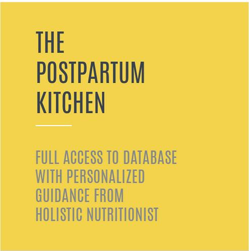 The Postpartum Kitchen ~ Full Access Plus