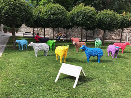 Pop Sheep in Lienz, 2017