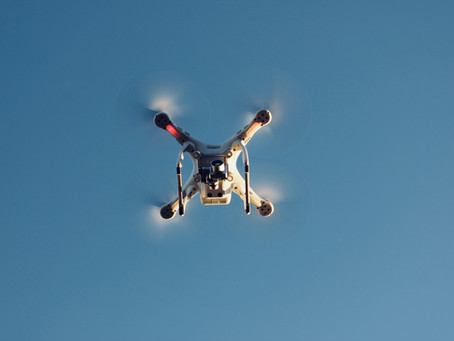 Qual o uso do drone no georreferenciamento?