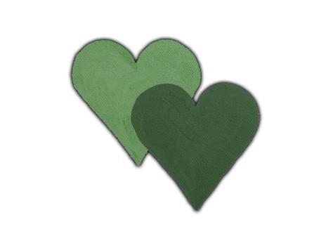 Logoet med de to hjerter