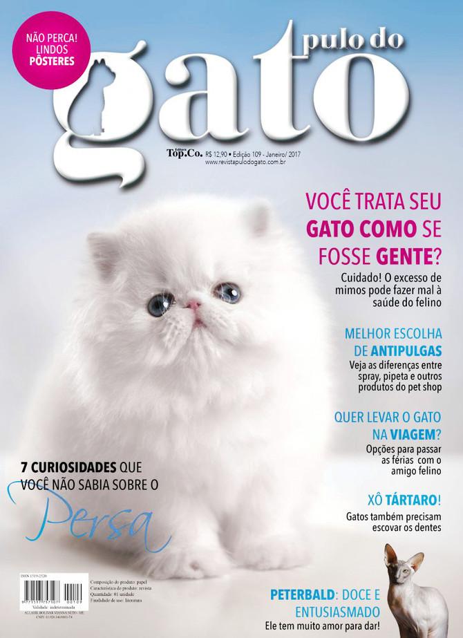 Gatil Mon Desiré na capa da Pulo do Gato de Janeiro!