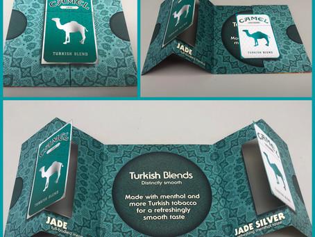 Camel Double Swinger Mailer