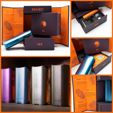 DaVinci Vaporizer Packaging