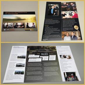 Auto Dealership Brochure