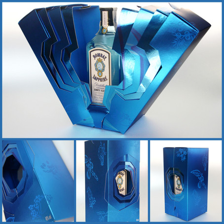 Bombay Sapphire Packaging