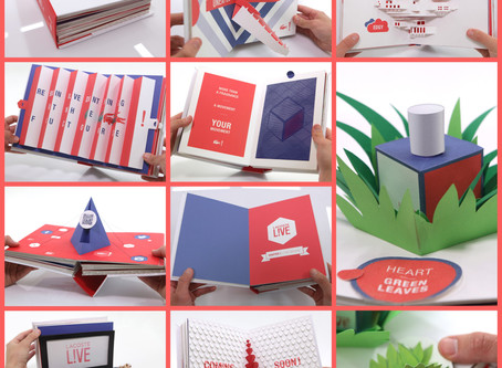 Lacoste Pop-Up Book