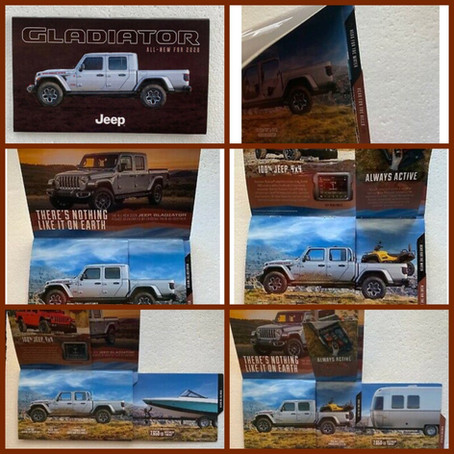 Jeep Gladiator Brochure