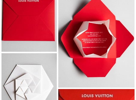 Louis Vuitton Invite