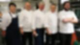 Restaurantkokkene Tore Belgum, Kjell Arne Johnsæter, Tore Namstad, Petter og Loke