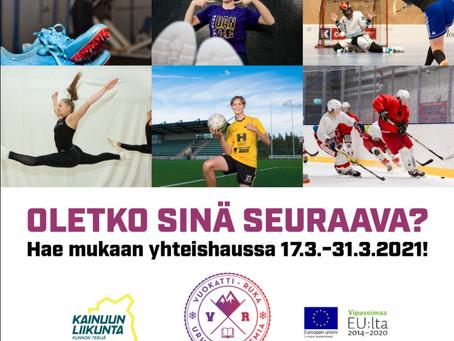 Yhteishaku starttaa 17.3.2021 Kajaanin Ammattikorkeakouluun!