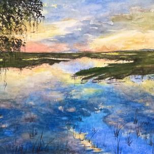 """Marsh Sunset"""