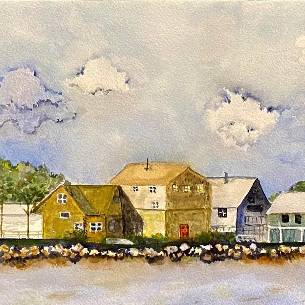 """New England Coast"""