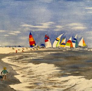 """A Beautiful Sailing Day"""