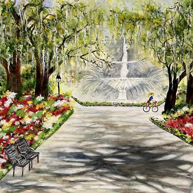 """""""Savannah's Forsyth Park"""""""