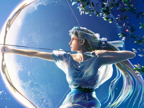 Artemis and Orion: Undestined Tragic Love Story of the Universe