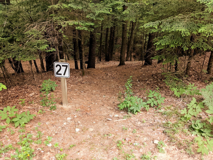 Site 27 - path to 27