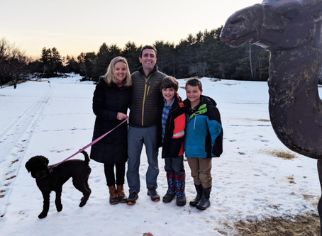 We own a desert in Maine!