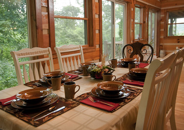 Dogwood Point Dining in Sunroom