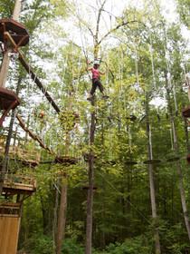 Treetop Adventure Nets at NOC