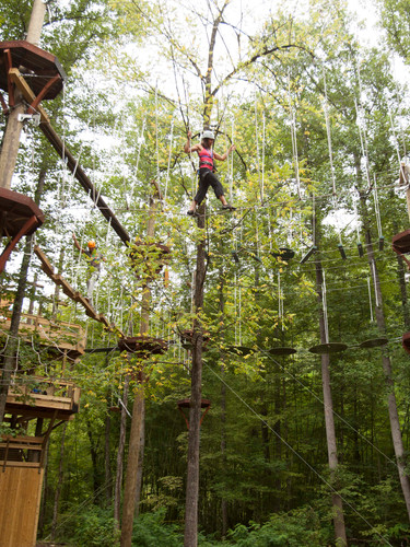 Treetop Adventure Nets at NOC