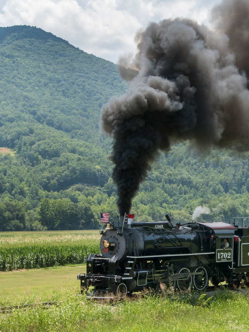 Great Smoky Mountains Railroad Steam Excursion