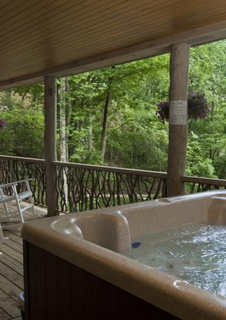 Poplar Lodge Covered Deck