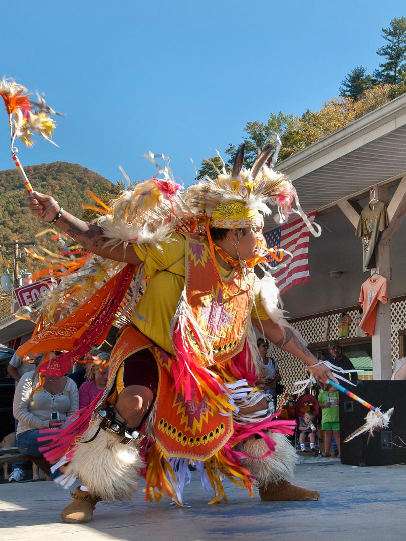 Street Chief Dancer - Cherokee, NC