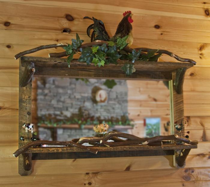 Custom Mountain Laurel Mirror
