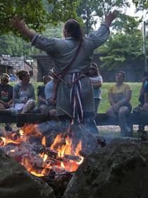 Cherokee Bonfire Storytelling