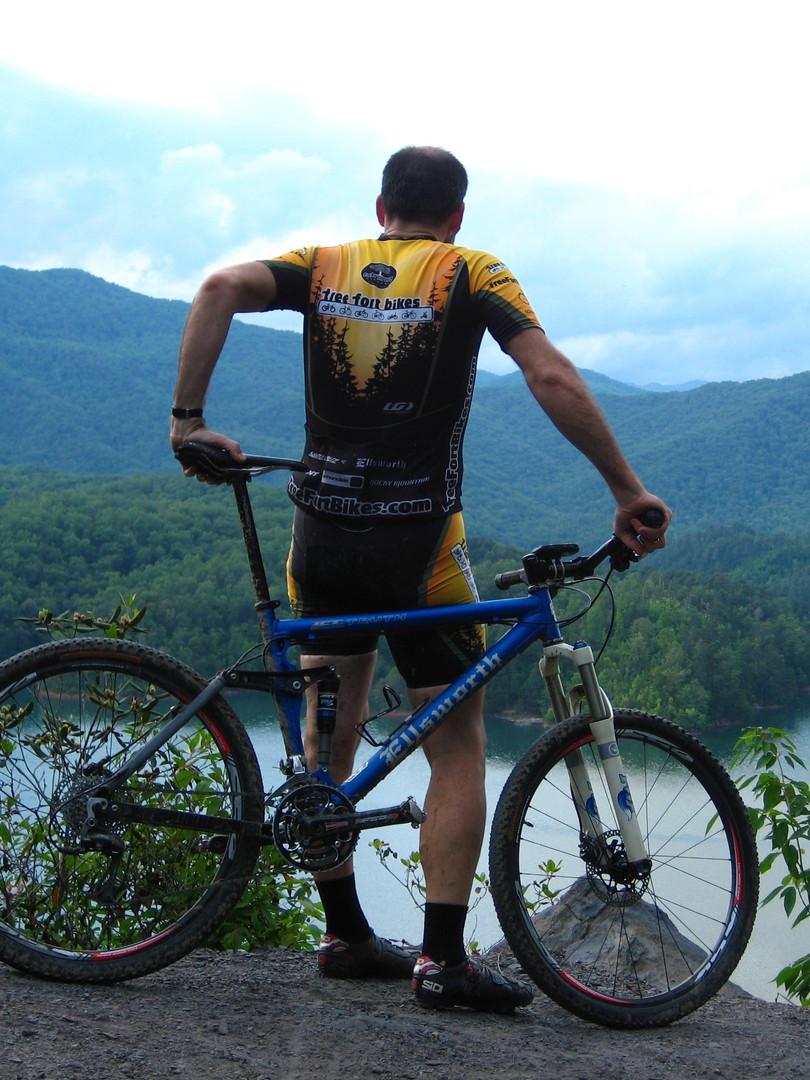 Biking Tsali Recreation Area