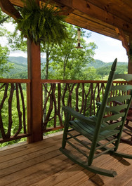 Dogwood Point View from Covered Deck