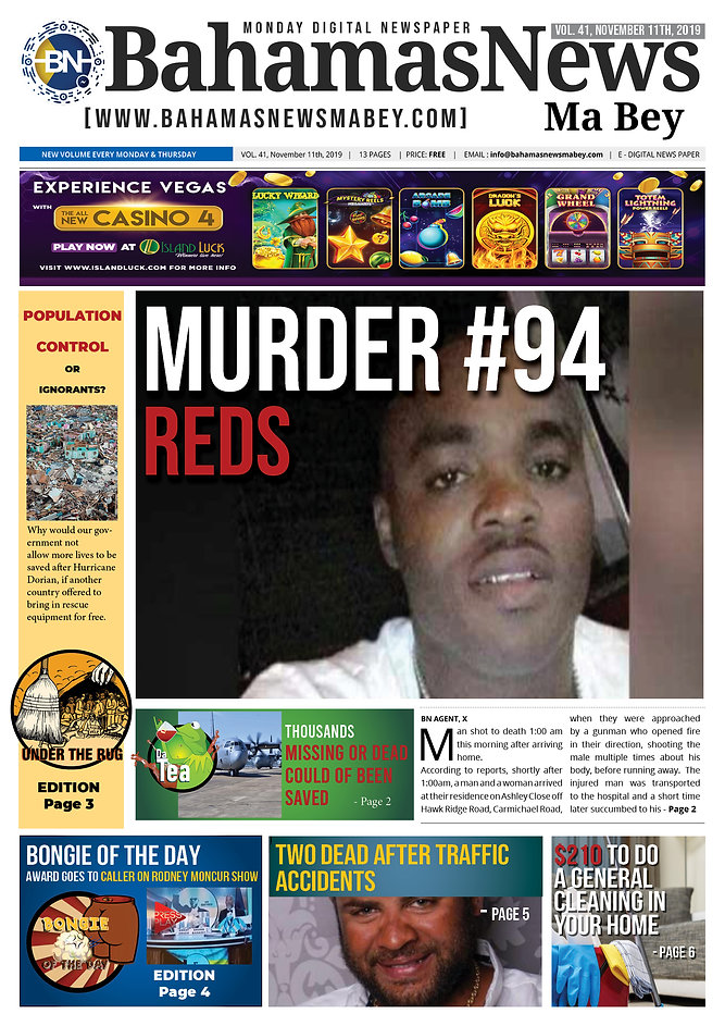 BN News Paper - November 11th 2019 - Vol