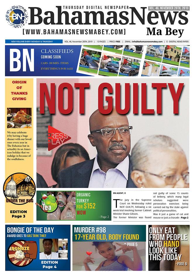 BN News Paper - November 28th 2019 - Vol
