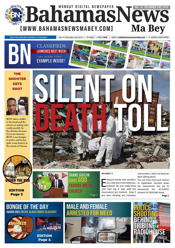 BN News Paper - December 2nd 2019 - Vol