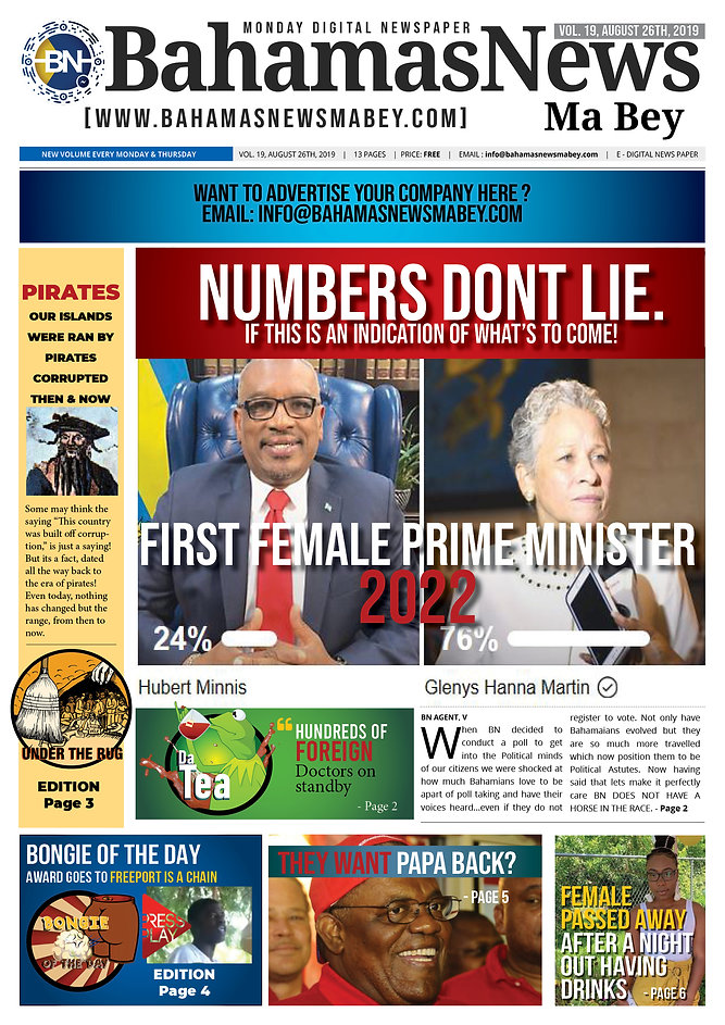 BN News Paper - August 26th 2019 - Vol 1
