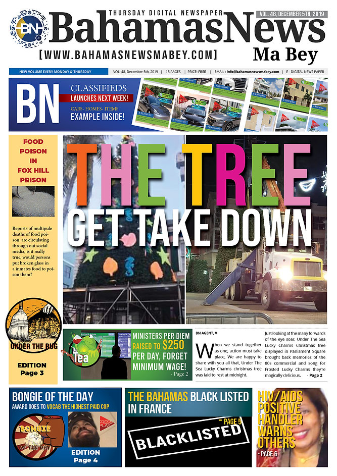 BN News Paper - December 5th 2019 - Vol