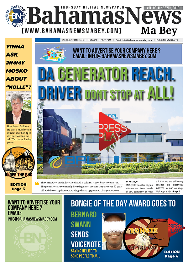 BN News Paper images - June 27 2019 - Vo