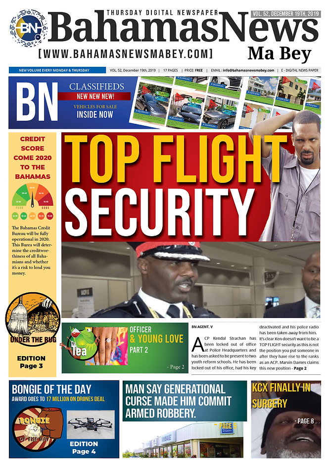 BN News Paper - December 19th 2019 - Vol
