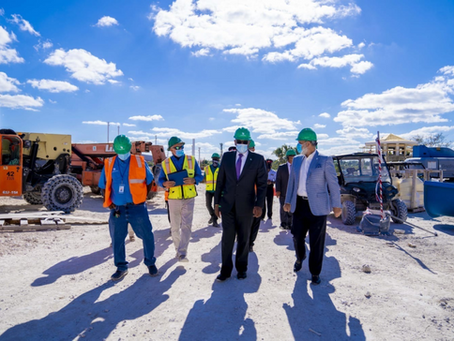 PM Tours Bahamar Before Reopening