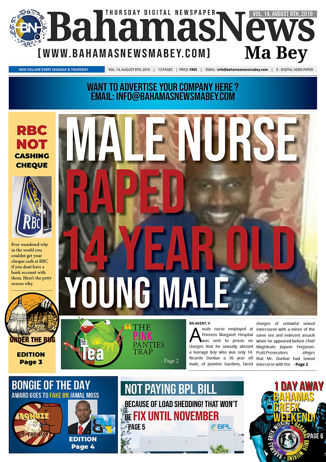 BN News Paper - August 8th 2019 - Vol 14