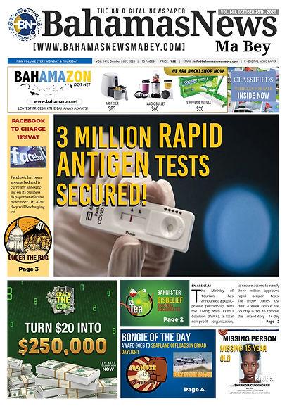 BN News Paper October 26th 2020 - Vol 14