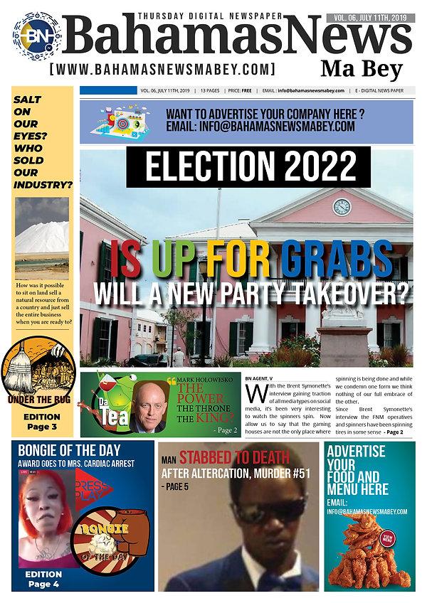 BN News Paper - July 11th 2019 - Vol 6 .