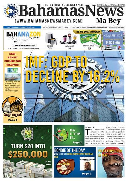 BN News Pape December 3rd 2020 - Vol 152