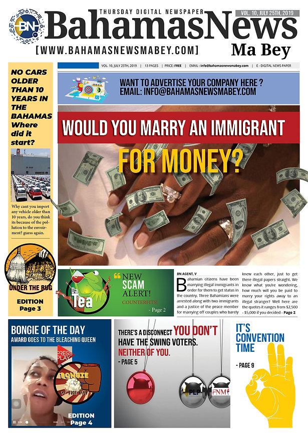 BN News Paper - July 25th 2019 - Vol 10