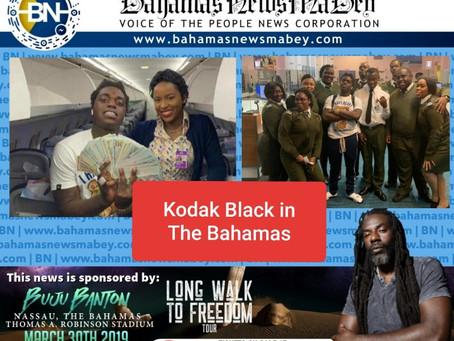 Kodak Black in The Bahamas