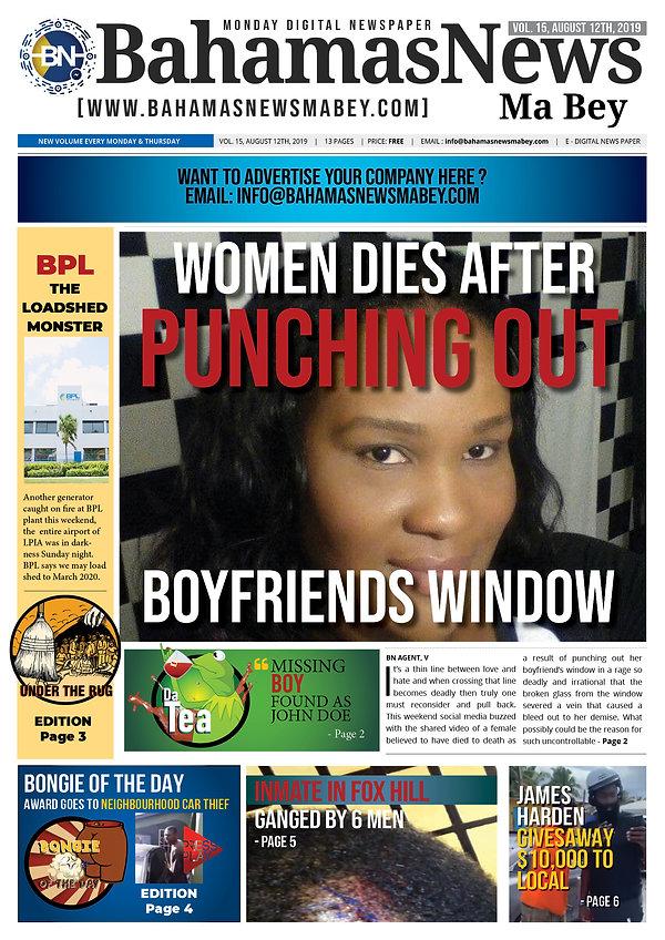 BN News Paper - August 12th 2019 - Vol 1